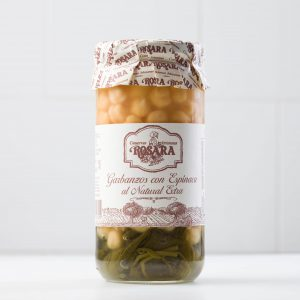 Garbanzos con espinaca al natural 1 kg