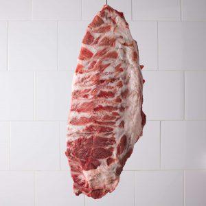 Costilla cerdo ibérico