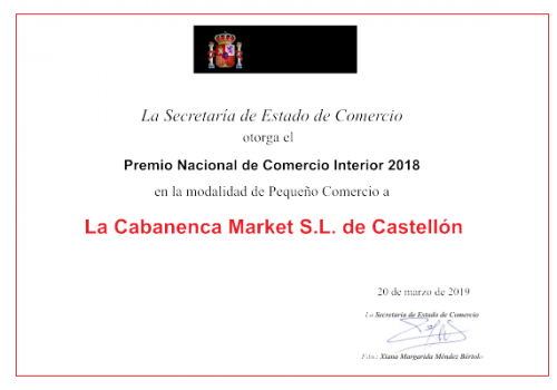 premio nacional comercio interior